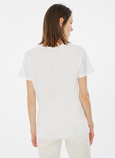 Loves You Tişört Beyaz